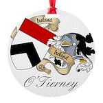 OTierney.jpg Round Ornament
