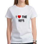 I * the 90's Women's T-Shirt