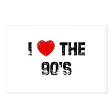 I * the 90's Postcards (Package of 8)