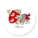 Ryan (OMulrian).jpg Round Car Magnet