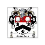 Saunders (Wexford)-Irish-9.jpg Square Sticker 3