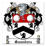 Saunders (Wexford)-Irish-9.jpg Square Car Magnet 3