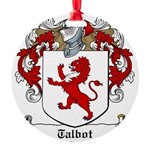 Talbot (1610)-Irish-9.jpg Round Ornament