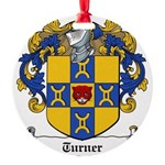Turner (Dublin 1618)-Irish-9.jpg Round Ornament