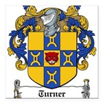 Turner (Dublin 1618)-Irish-9.jpg Square Car Magnet