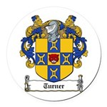 Turner (Dublin 1618)-Irish-9.jpg Round Car Magnet