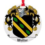 Waller (Limerick)-Irish-9.jpg Round Ornament