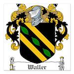 Waller (Limerick)-Irish-9.jpg Square Car Magnet 3