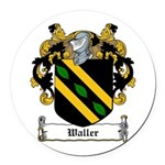 Waller (Limerick)-Irish-9.jpg Round Car Magnet