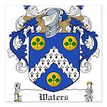 Waters (Limerick)-Irish-9.jpg Square Car Magnet 3