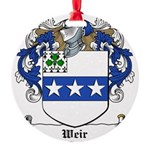 Weir (Dublin)-Irish-9.jpg Round Ornament