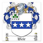 Weir (Dublin)-Irish-9.jpg Square Car Magnet 3