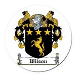 Wilson-Irish-9.jpg Round Car Magnet