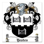 Yeates (Donegal 1675)-Irish-9.jpg Square Car Magne
