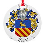 Resti_Italian.jpg Round Ornament