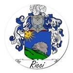 Ricci_Italian.jpg Round Car Magnet