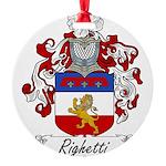 Righetti_Italian.jpg Round Ornament