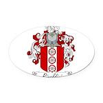 Rinaldini_Italian.jpg Oval Car Magnet