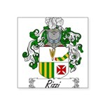 Rizzi_Italian.jpg Square Sticker 3