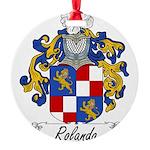 Rolando_Italian.jpg Round Ornament