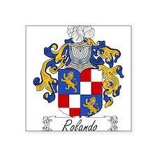 "Rolando_Italian.jpg Square Sticker 3"" x 3"""