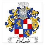 Rolando_Italian.jpg Square Car Magnet 3