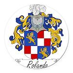 Rolando_Italian.jpg Round Car Magnet