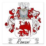Romani_Italian.jpg Square Car Magnet 3