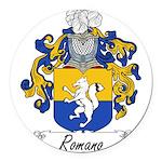 Romano_Italian.jpg Round Car Magnet