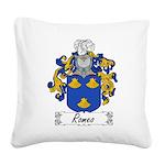 Romeo_Italian.jpg Square Canvas Pillow