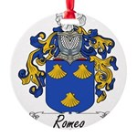Romeo_Italian.jpg Round Ornament