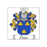 Romeo_Italian.jpg Square Sticker 3