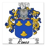 Romeo_Italian.jpg Square Car Magnet 3