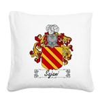 Sajani_Italian.jpg Square Canvas Pillow