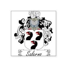 "Salerno_Italian.jpg Square Sticker 3"" x 3"""