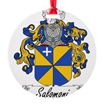 Salomoni_Italian.jpg Round Ornament
