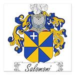 Salomoni_Italian.jpg Square Car Magnet 3