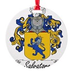 Salvatore_Italian.jpg Round Ornament