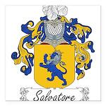 Salvatore_Italian.jpg Square Car Magnet 3