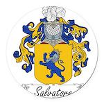 Salvatore_Italian.jpg Round Car Magnet