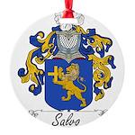 Salvo_Italian.jpg Round Ornament