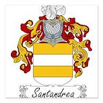 Santandrea_Italian.jpg Square Car Magnet 3