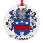 Schiavoni_Italian.jpg Round Ornament