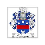 Schiavoni_Italian.jpg Square Sticker 3