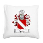 Secco_Italian.jpg Square Canvas Pillow