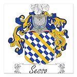 Sesso_Italian.jpg Square Car Magnet 3