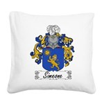 Simeone_Italian.jpg Square Canvas Pillow