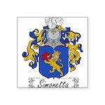 Simonetta_Italian.jpg Square Sticker 3