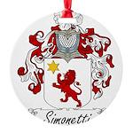 Simonetti_Italian.jpg Round Ornament