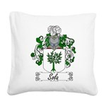 Sola_Italian.jpg Square Canvas Pillow